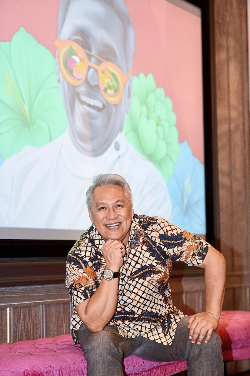 Chef Wan is the celebrity chef behind the new establishment serving authentic Malay dishes.