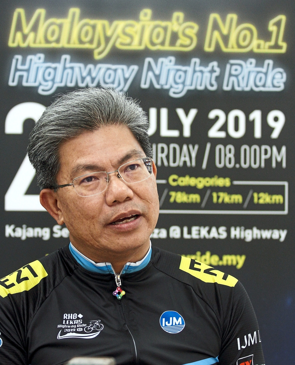 Khairussaleh says cycling is gaining popularity.