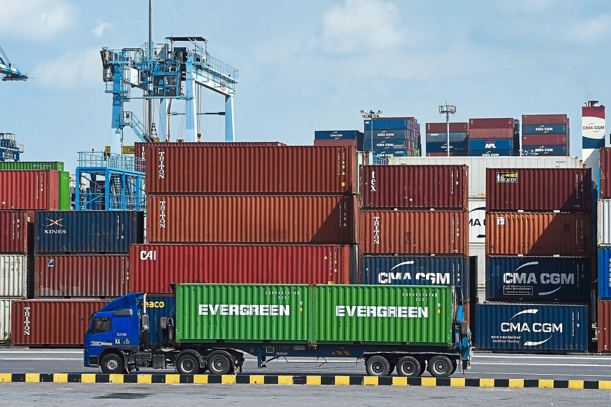 Positive guide: CIMB Research has maintained its 'add' call for Westports with a target price of RM4.18.— AFP