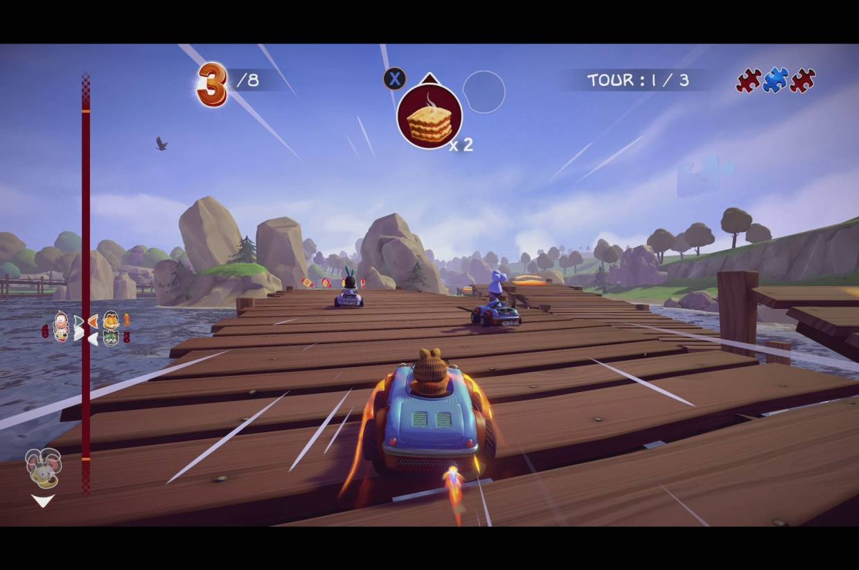 What Is Garfield Kart Furious Racing Sequel Remake Or Frog Fractions 3 The Star