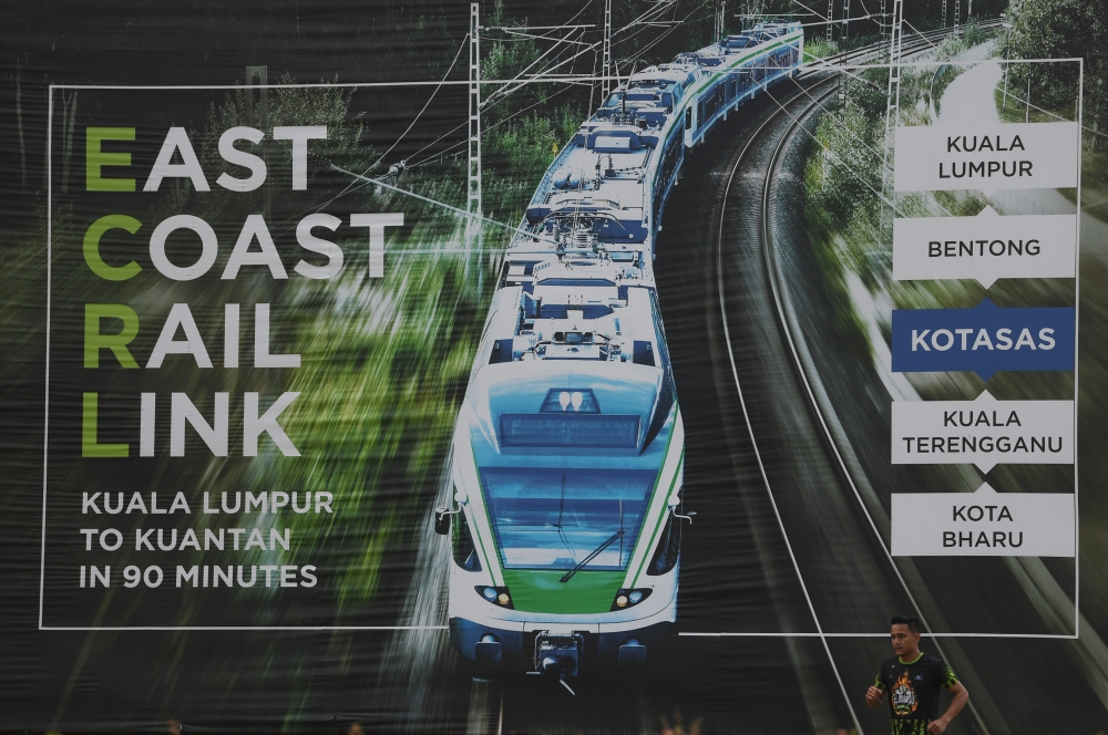 331 local contractors shortlisted for ECRL jobs   The Star Online