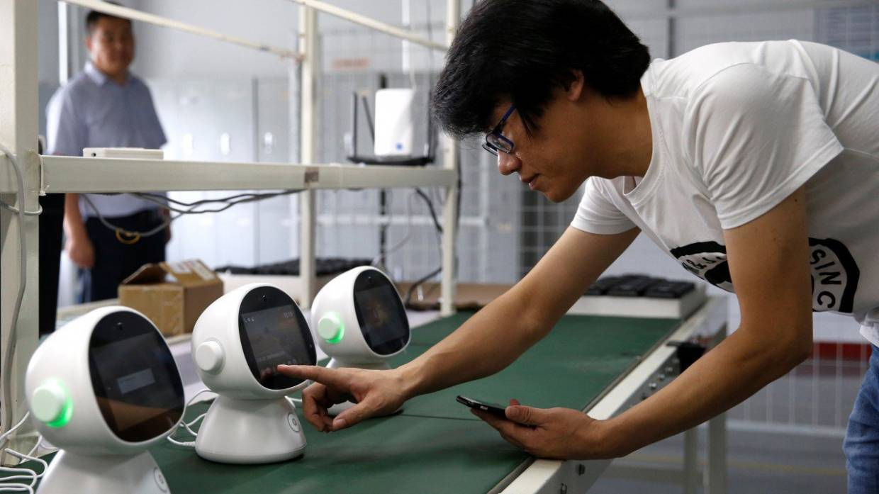 Robots to become extended family members amid advances in AI, 5G