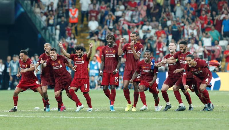 Football Liverpool Win Super Cup After Penalty Shootout The Star