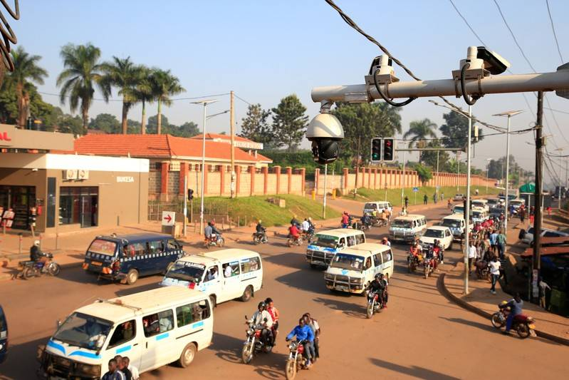 Uganda's cash-strapped cops spend $126 million on CCTV from