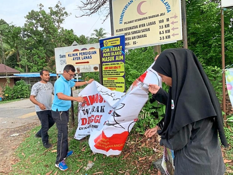 Dengue busters represent Kelantan