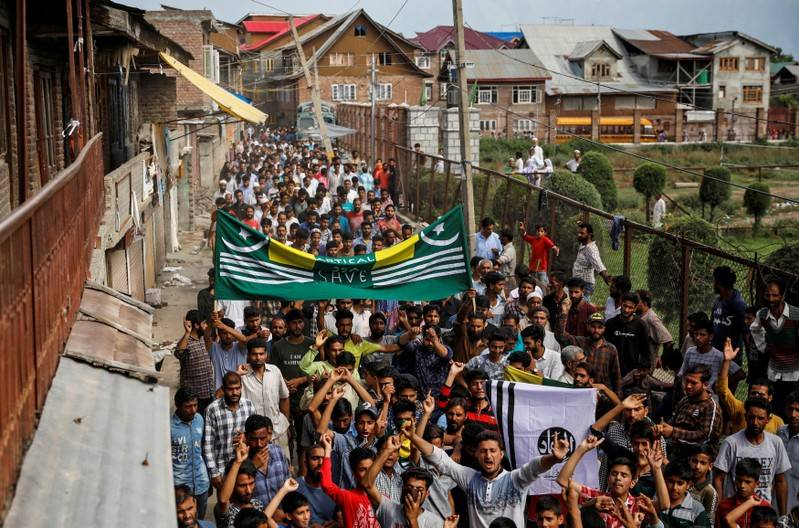 Authorities make more arrests in Indian Kashmir to deter