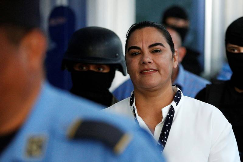 Image result for Former first lady of Honduras sentenced to 58 years in jail