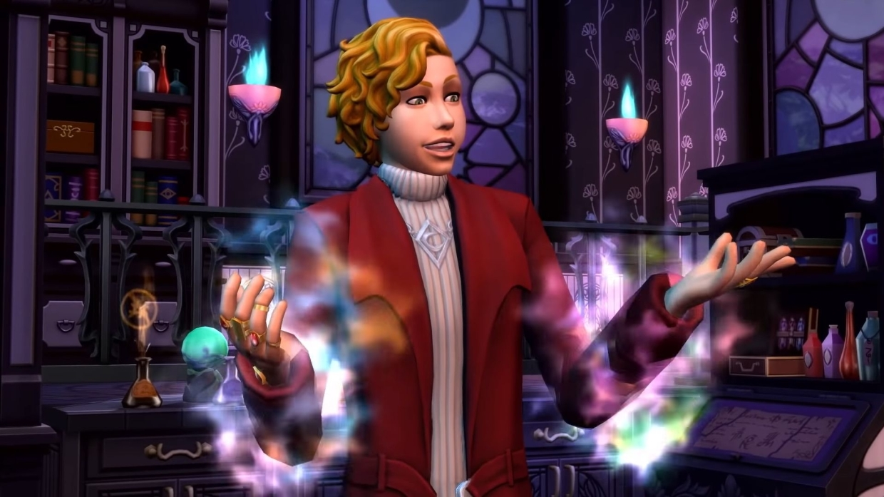 The Sims 4: Realm of Magic' pack sets up Halloween, Harry