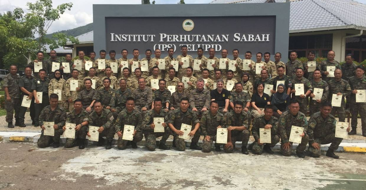 Trainees with certificates and trainers on the last day of the special unit training at IPS (pix courtesy: DGFC)