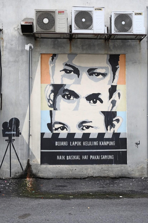 Murals in Laman Seni 7 in Shah Alam aims to redefine back lanes.