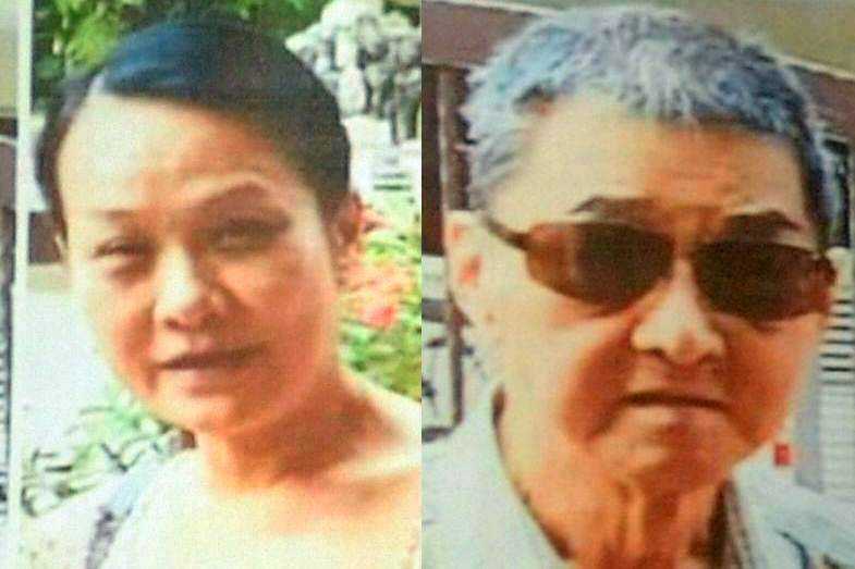 Double tragedy: Tan (left) was found on Monday whereas Lim's remains were pointed out to the police by the suspects.
