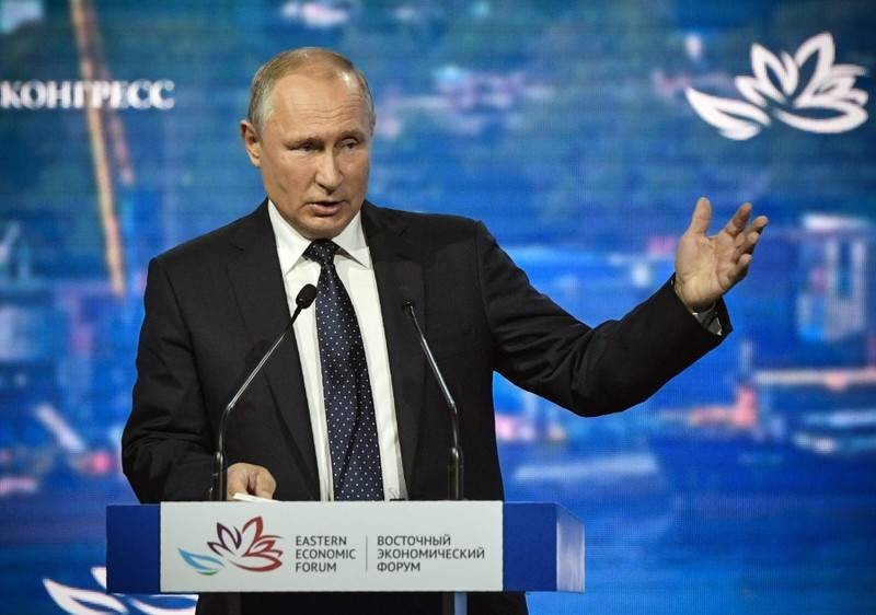 Russia's Putin - need wider G7-style group, with China
