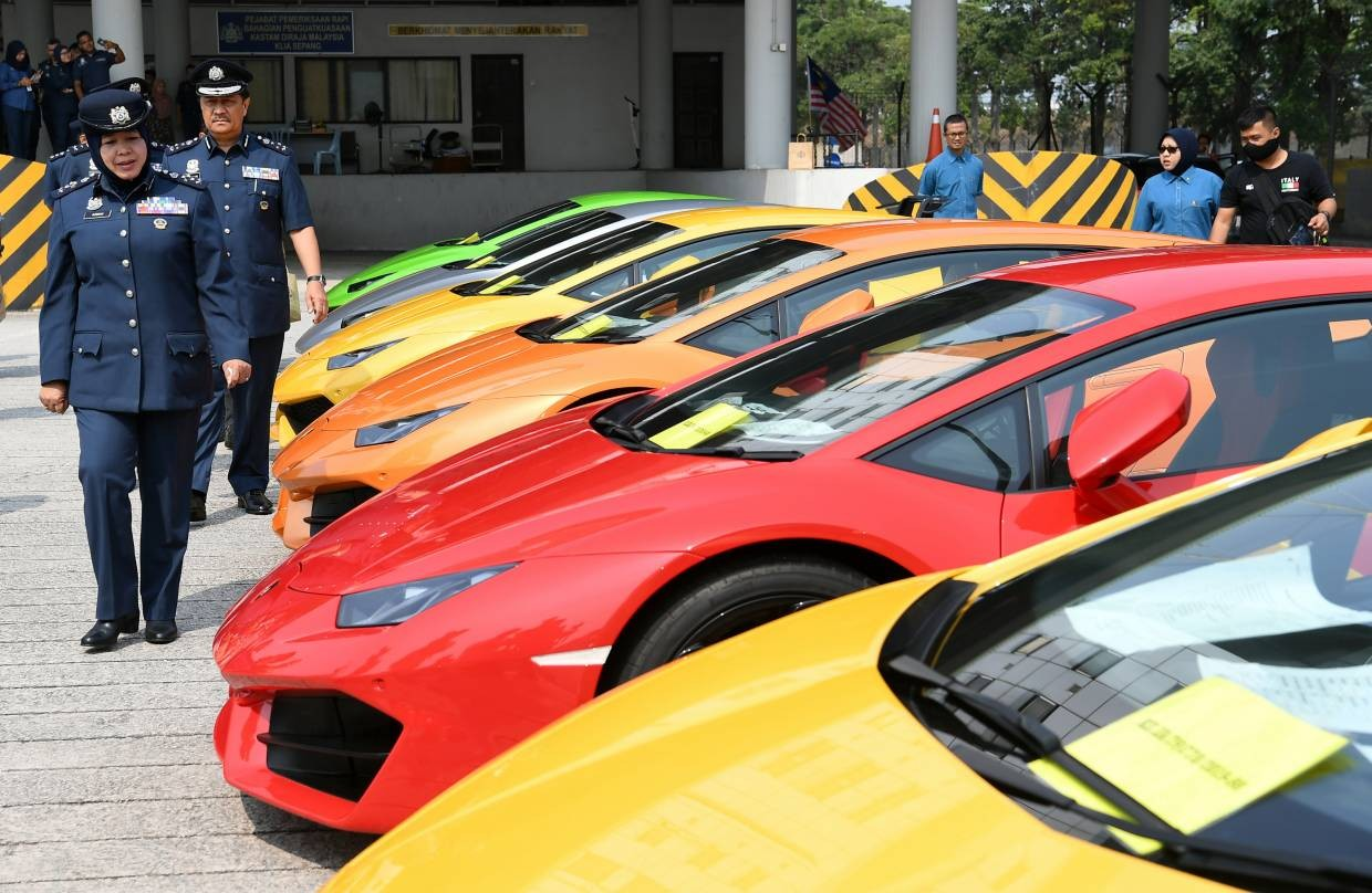Customs seize 21 luxury cars worth RM12 2 million with