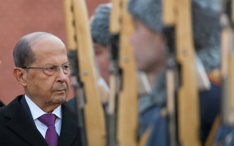 Image result for aoun angry