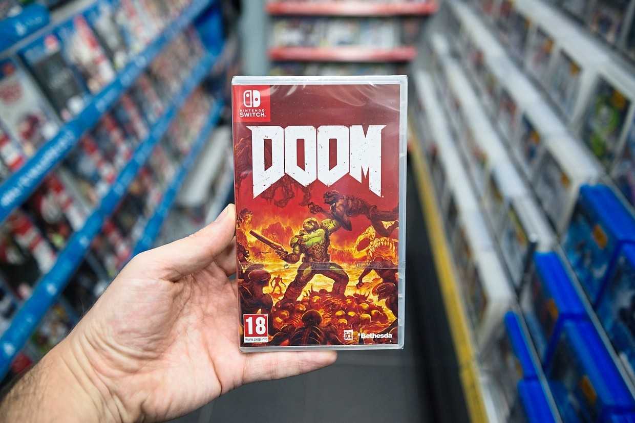 If Cloud gaming catches on, physical games will most likely be doomed.