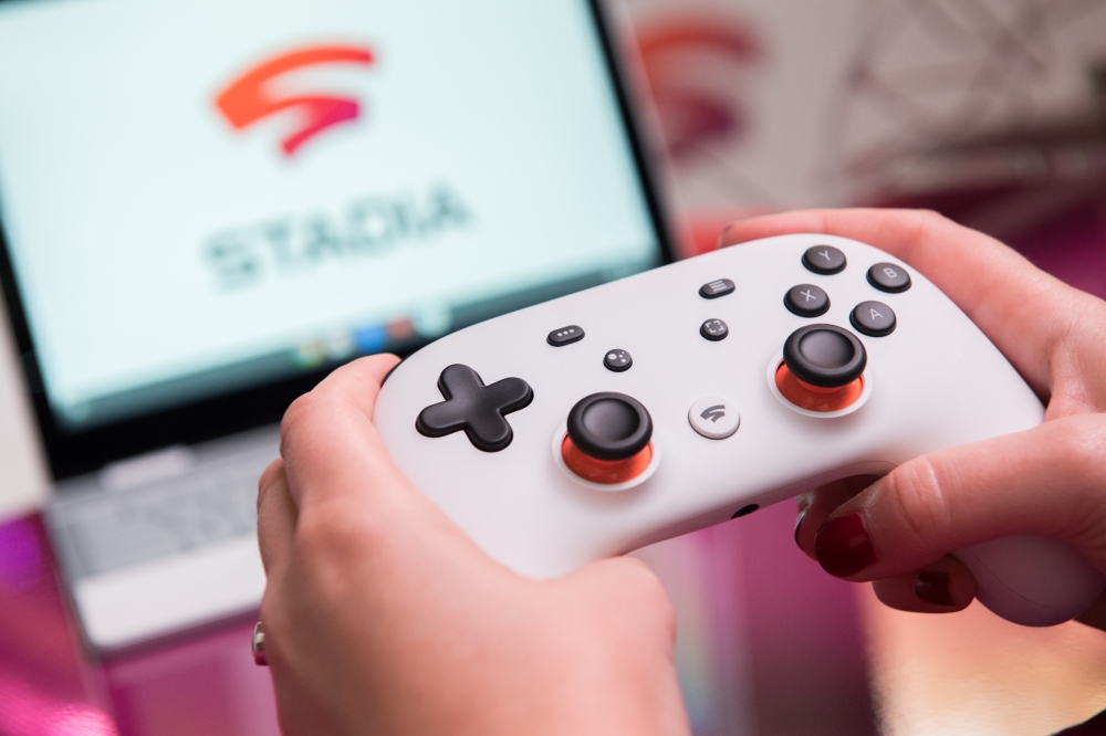 Stadia (pic) is not the only Cloud gaming service – Sony has PlayStation Now, and Microsoft is working on xCloud for its Xbox. — dpa