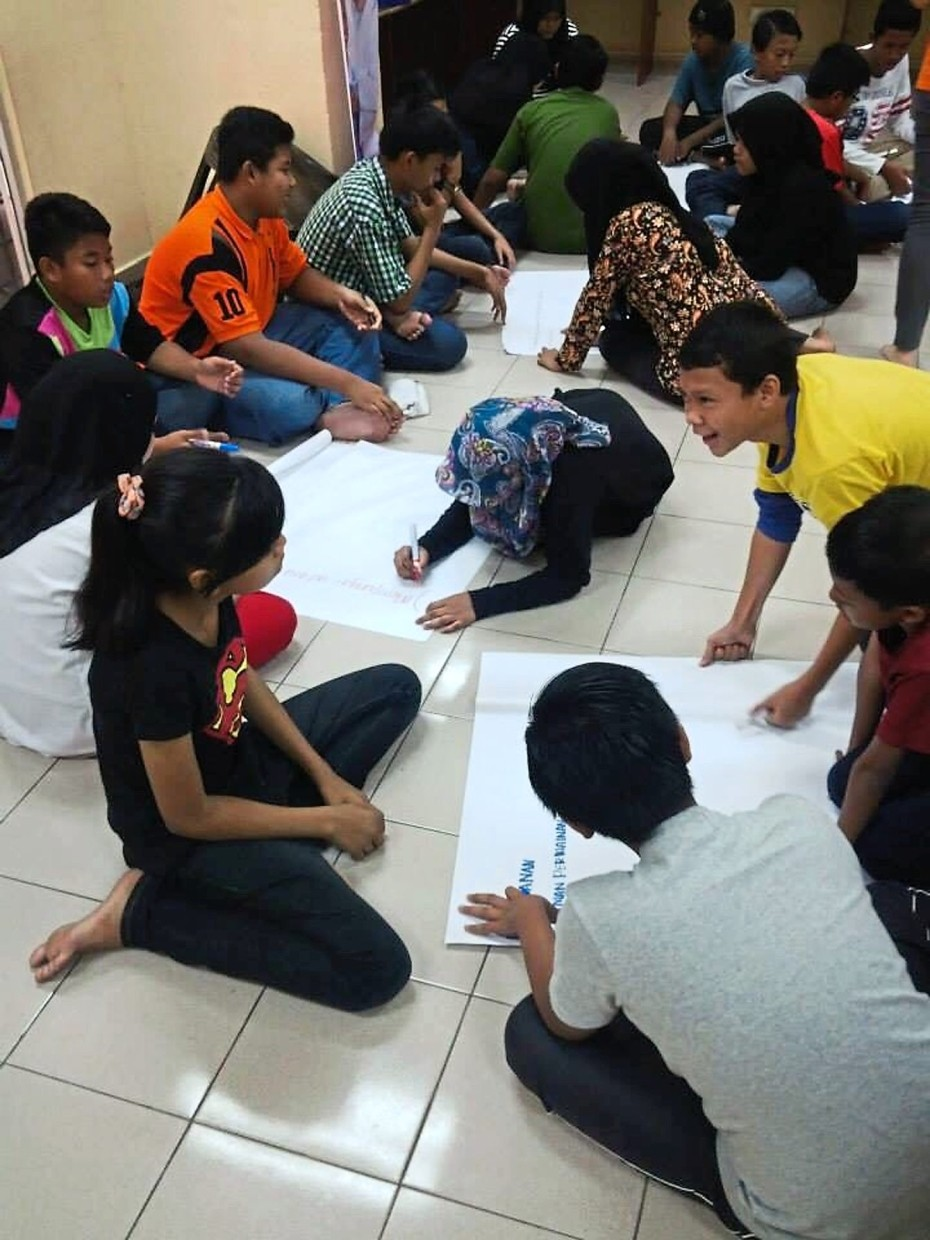 The Mints space in PPR Desa Tun Razak buzzing with a community activity.