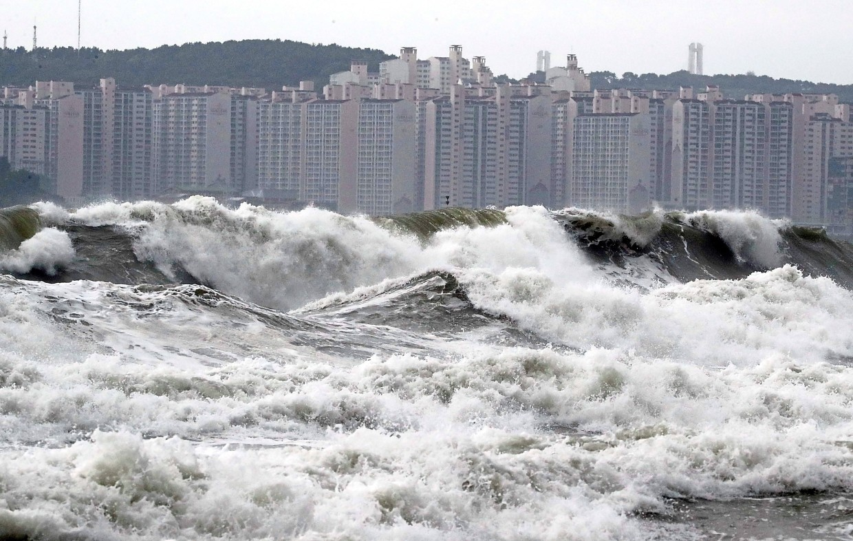 Typhoon Lingling leaves three dead in S  Korea | The Star Online