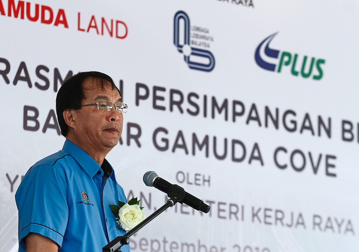 Baru says Gamuda Cove Interchange will be a catalyst for development in the surrounding areas.