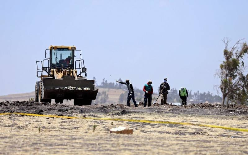 All remains from Ethiopian Airlines crash site now