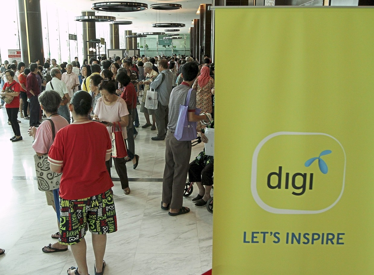 As an introductory special, Digi is offering a Sabah Special Home Fibre and Postpaid bundle until the end of the month. — Filepic
