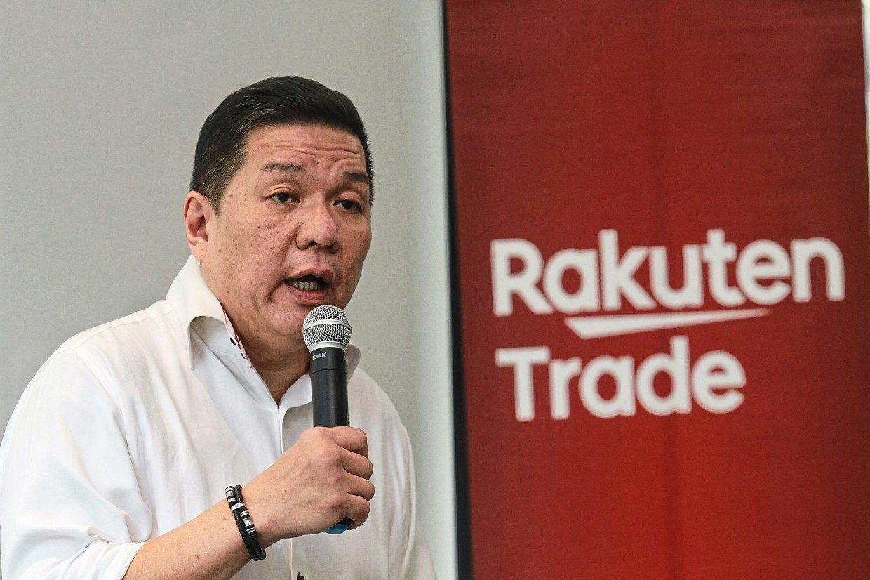 Rakuten Trade's head of research, Kenny Yee