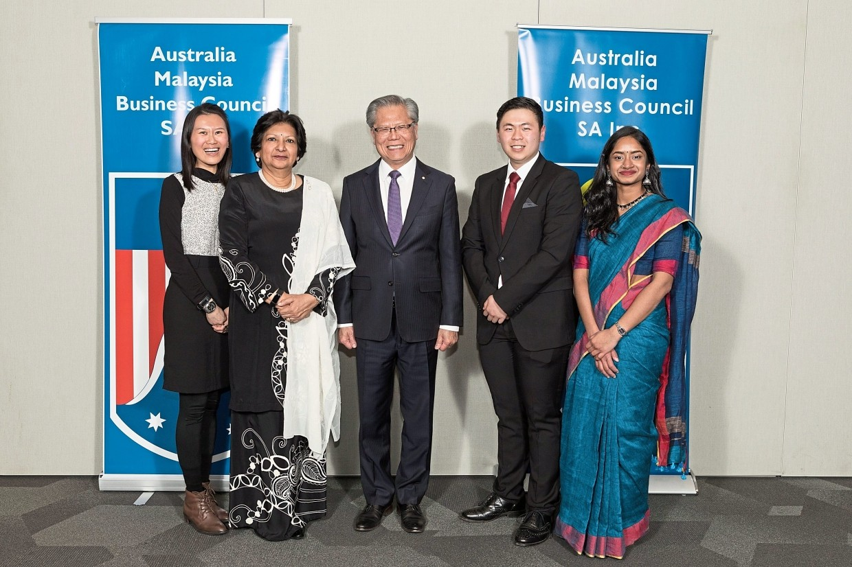 Malaysian trio awarded for top marks in South Australia