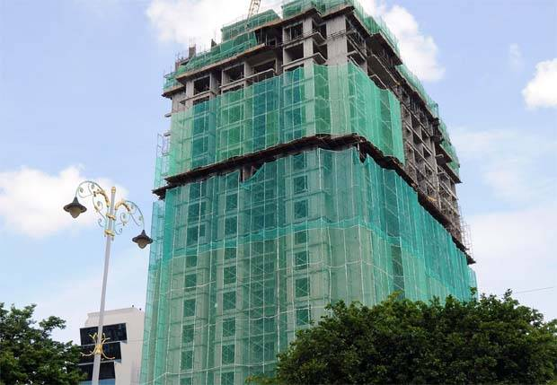 File picture shows a condominiumin project in Alor Setar jointly developed by Belleview Group and Bina Darulaman Berhad.