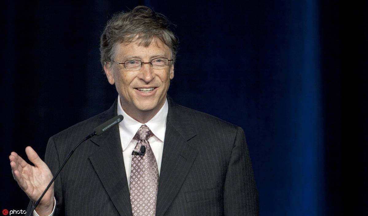 Bill Gates, who started the foundation in 2000 to help people around the world lead healthy, productive lives, told reporters recently that a healthy and constructive relationship between China and the US not only benefits the two countries, but also bolsters progress toward addressing major global issues. Pic from China Daily