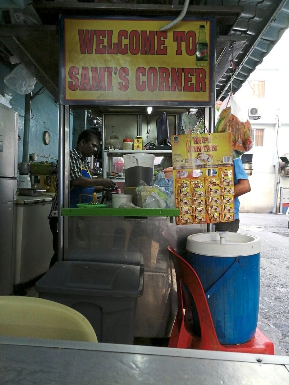 Although Sami's Corner has changed its locations a few times, its regular customers have followed.