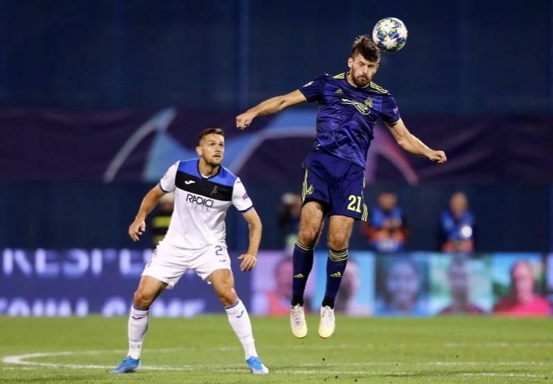 Football Dynamic Dinamo Hand Atalanta Sour Champions League Debut The Star