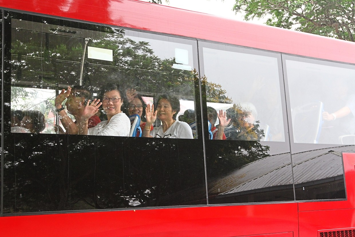 Taman Bukit Maluri residents are happy that they can now take the bus to Chow Kit and Pudu in Kuala Lumpur.