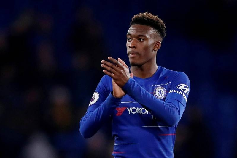 Image result for From South London's 'cages' to Wembley, Hudson-Odoi ready to shine