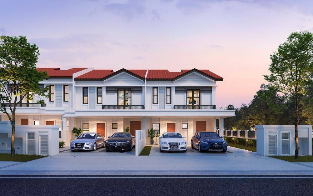 Heron, one of the three collections at Setia Alamsari, comprises two-storey lakeside 24'x85' superlink homes with each unit having the living hall and master bedroom facing a lake.