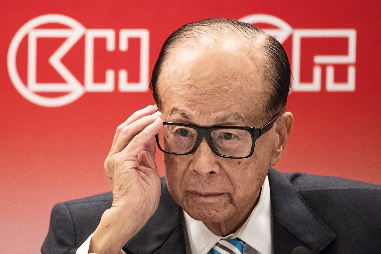 Hong Kong tycoon in the spotlight