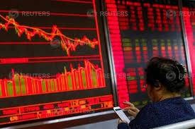 The blue-chip CSI300 index fell 1.1%, to 3,890.66, while the Shanghai Composite Index lost 1.1% to 2,977.08.