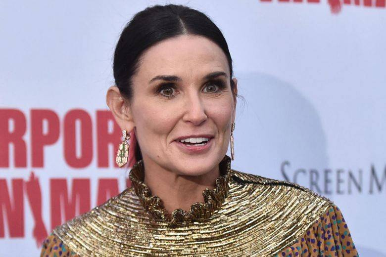 Demi Moore, who says s...