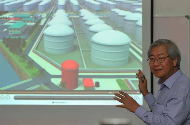 Dialog executive chairman Tan Sri Ngau Boon Keat(file pic) added that with 500 acres reserved for future phases, the development of PDT into the largest oil, gas and petrochemical hub in Asia-Pacific was well underway.