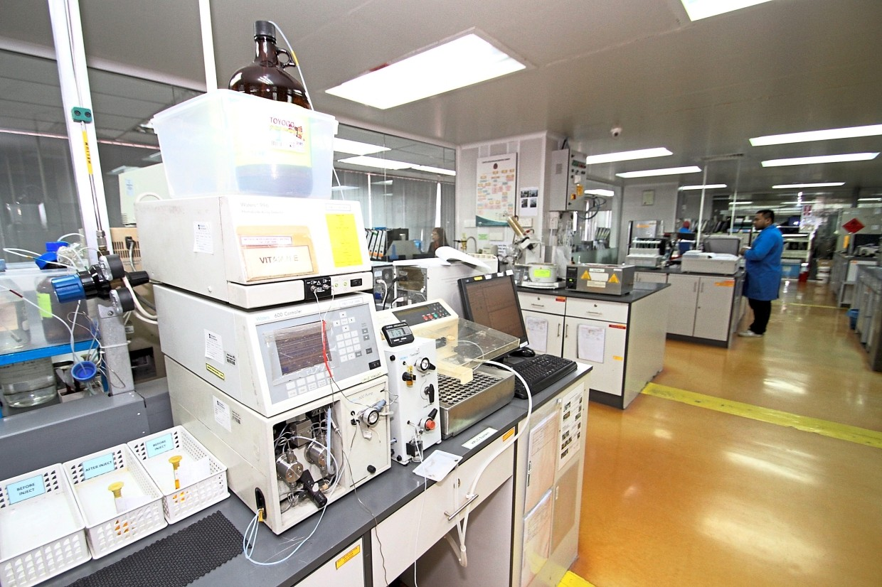 ExcelVite's lab is equipped for research and scientific development.
