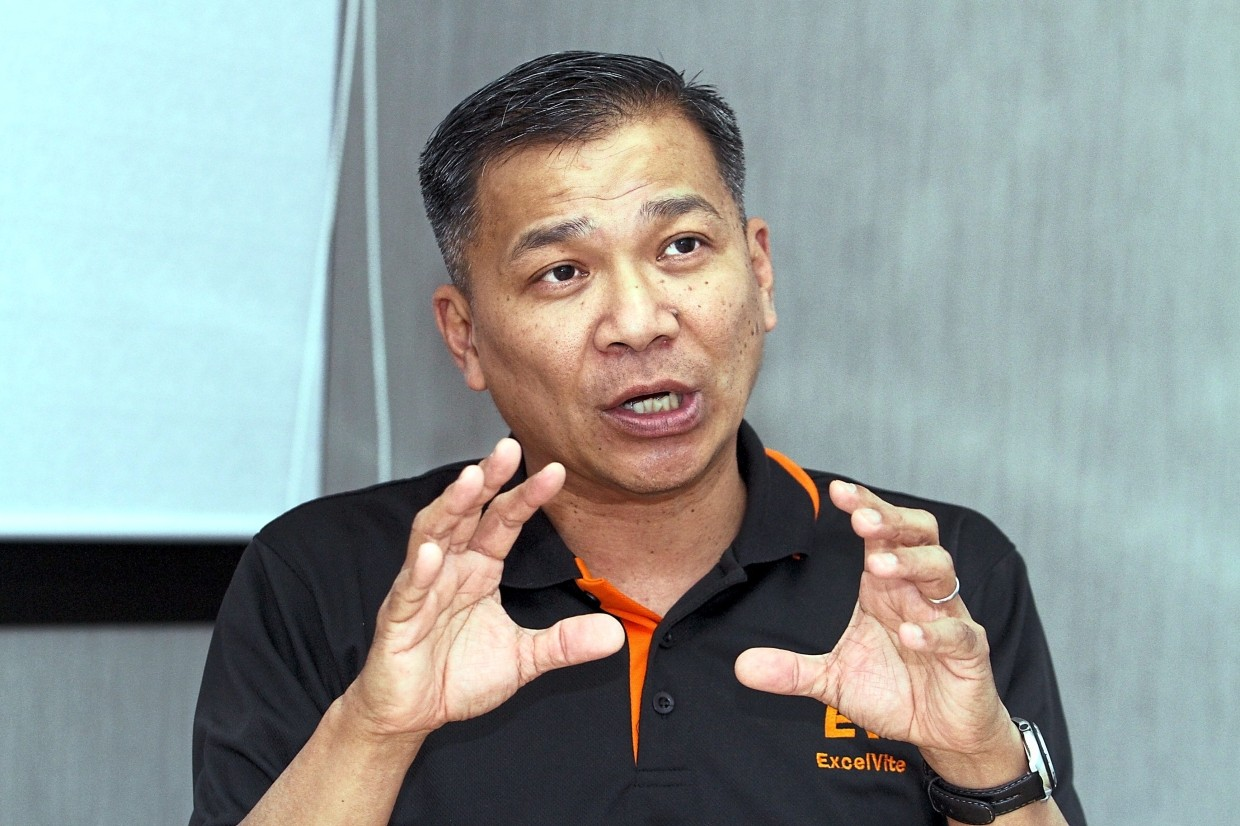 """Leong: """"We are able to better weather the fluctuation of palm oil prices, as we have five different products."""""""