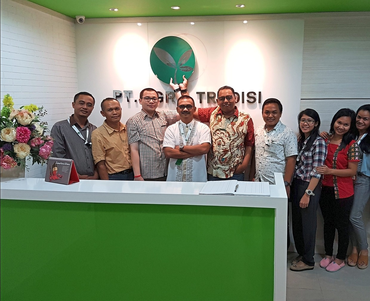 Success story: The people fronting PT. Agro Tradisi in Indonesia.