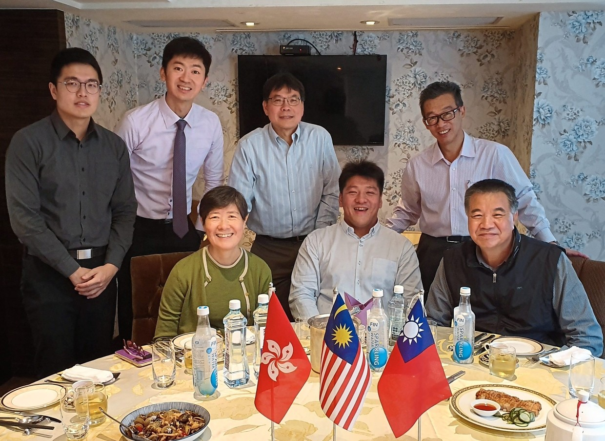 Solid teamwork: Agromate's delegates and business partners in Taipei.