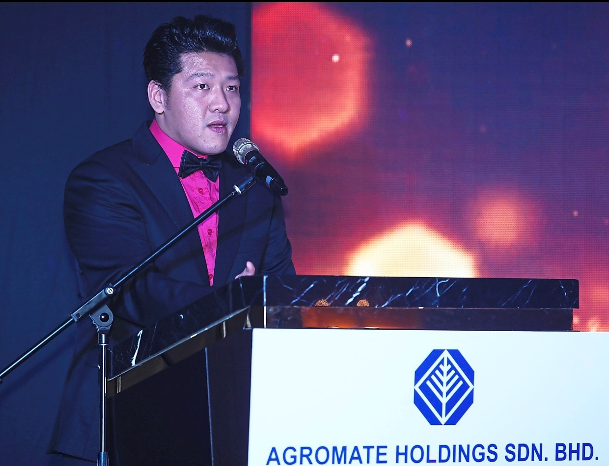 Up next: Agromate Holdings Sdn Bhd CEO Edward Tang hopes to grow overseas sales contribution to 50% by 2023, from around 30% now.