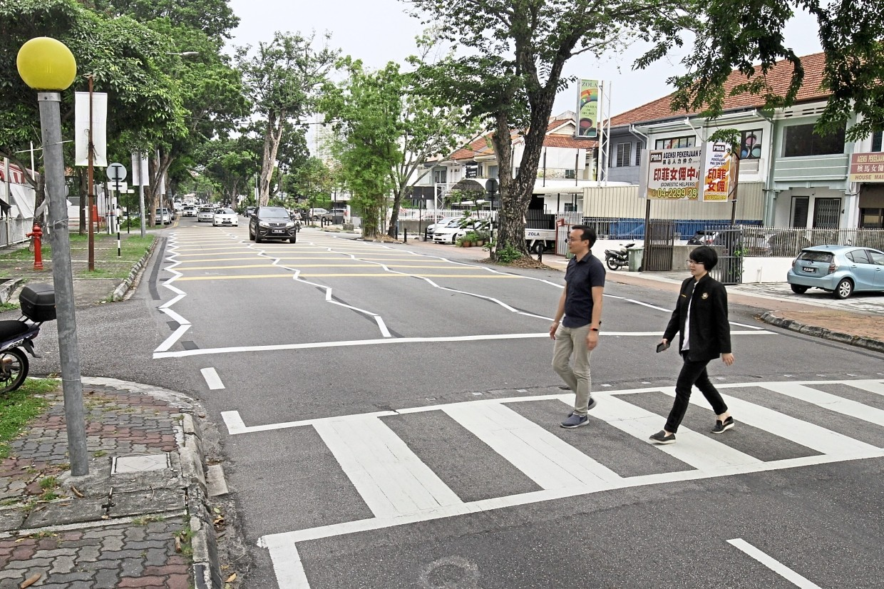 Project To Improve Road Safety The Star