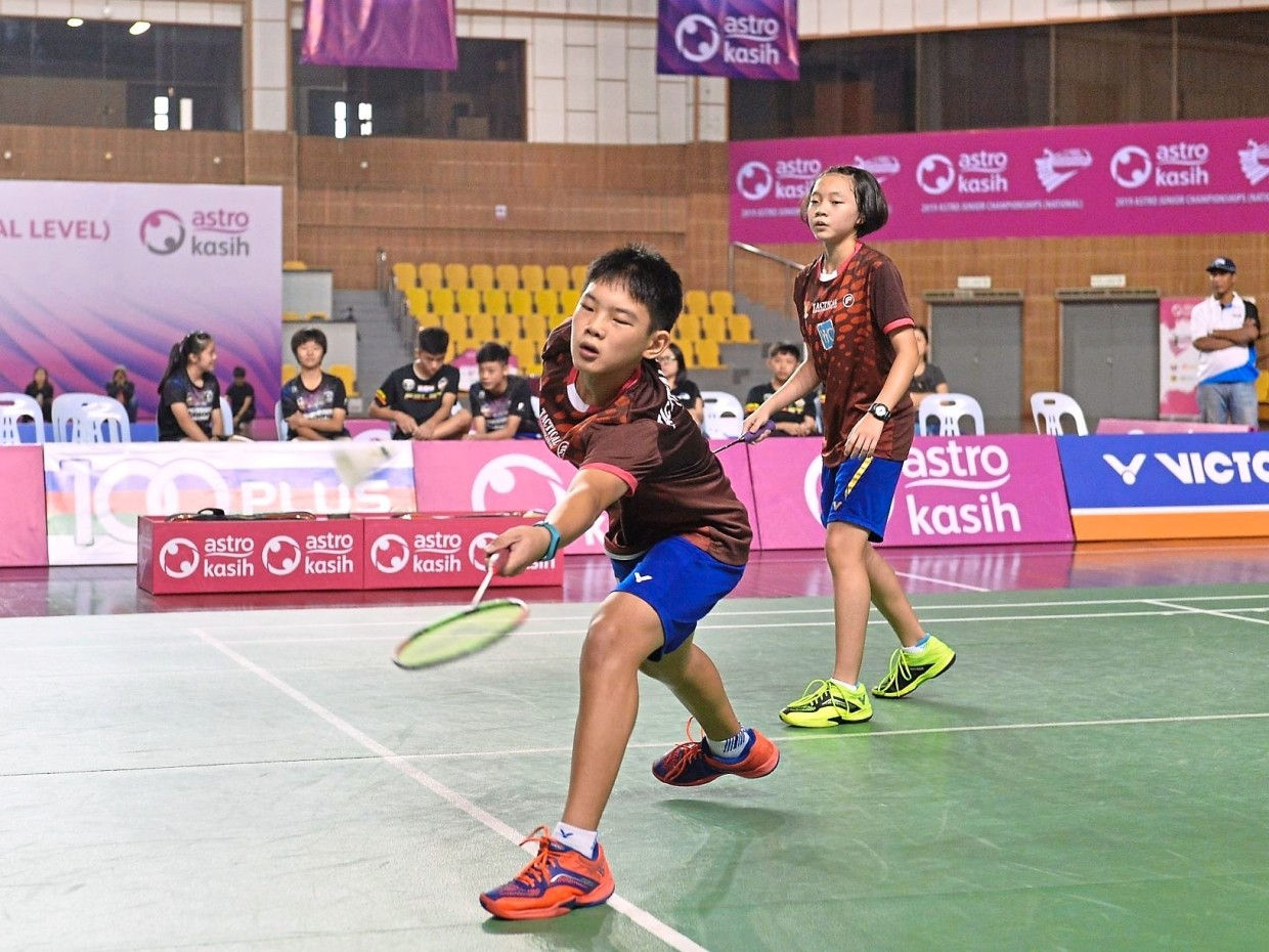 The junior championships saw 32 top youth teams from various states compete in the Under-15 mixed team competition.