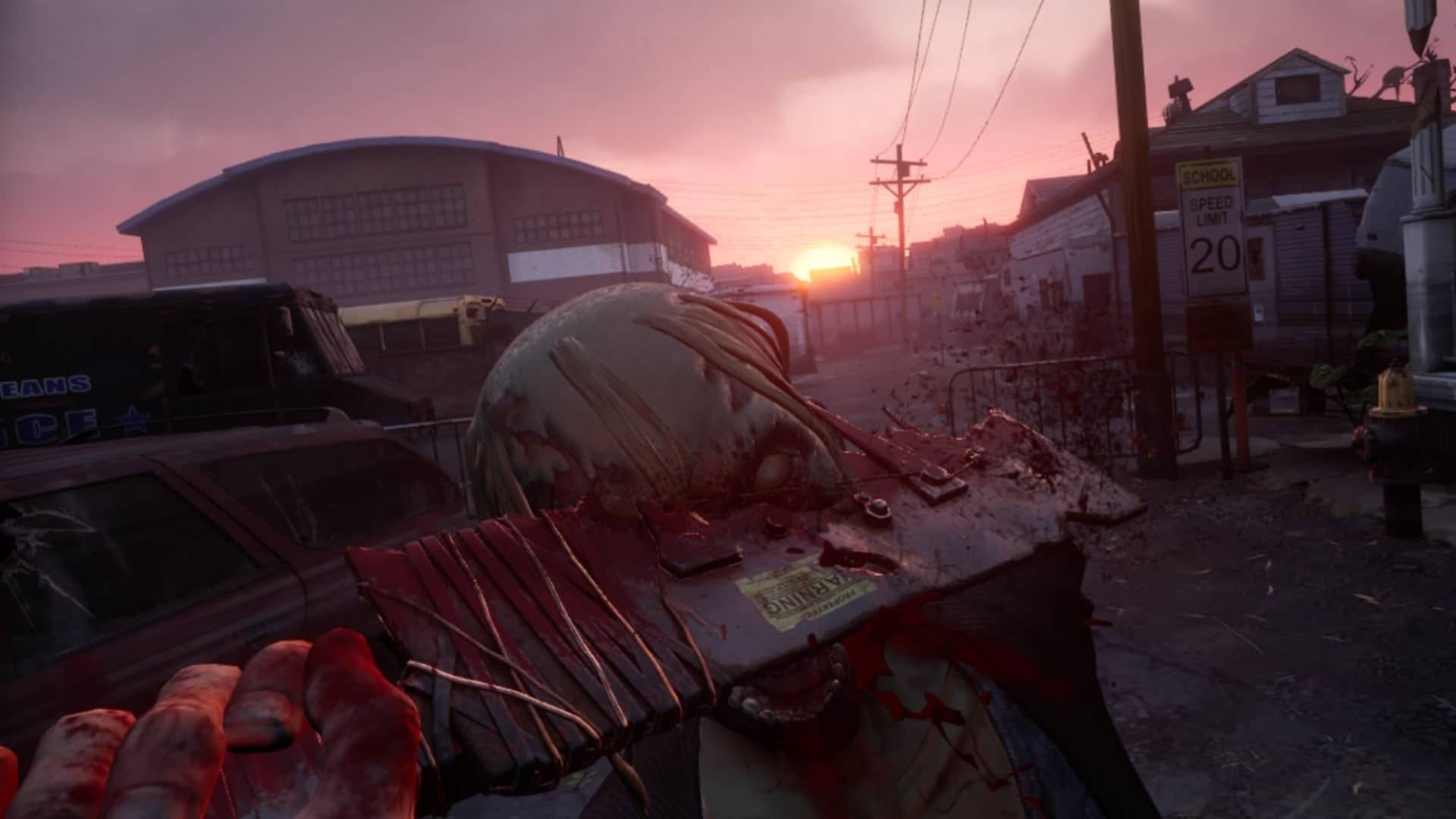 Players can craft weapons out of scavenged material in 'The Walking Dead: Saints & Sinners'. — Skydance Interactive/TNS