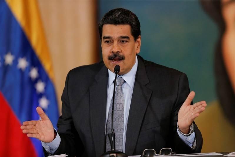 FILE PHOTO: Venezuela's President Nicolas Maduro gestures as he speaks during a news conference in Caracas, Venezuela, September 30, 2019. REUTERS/Manaure Quintero