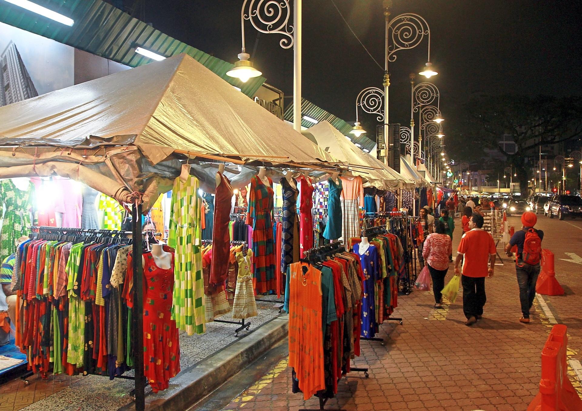 Traders operating at Jalan Tun Sambanthan in Brickfields started selling their goods last week.