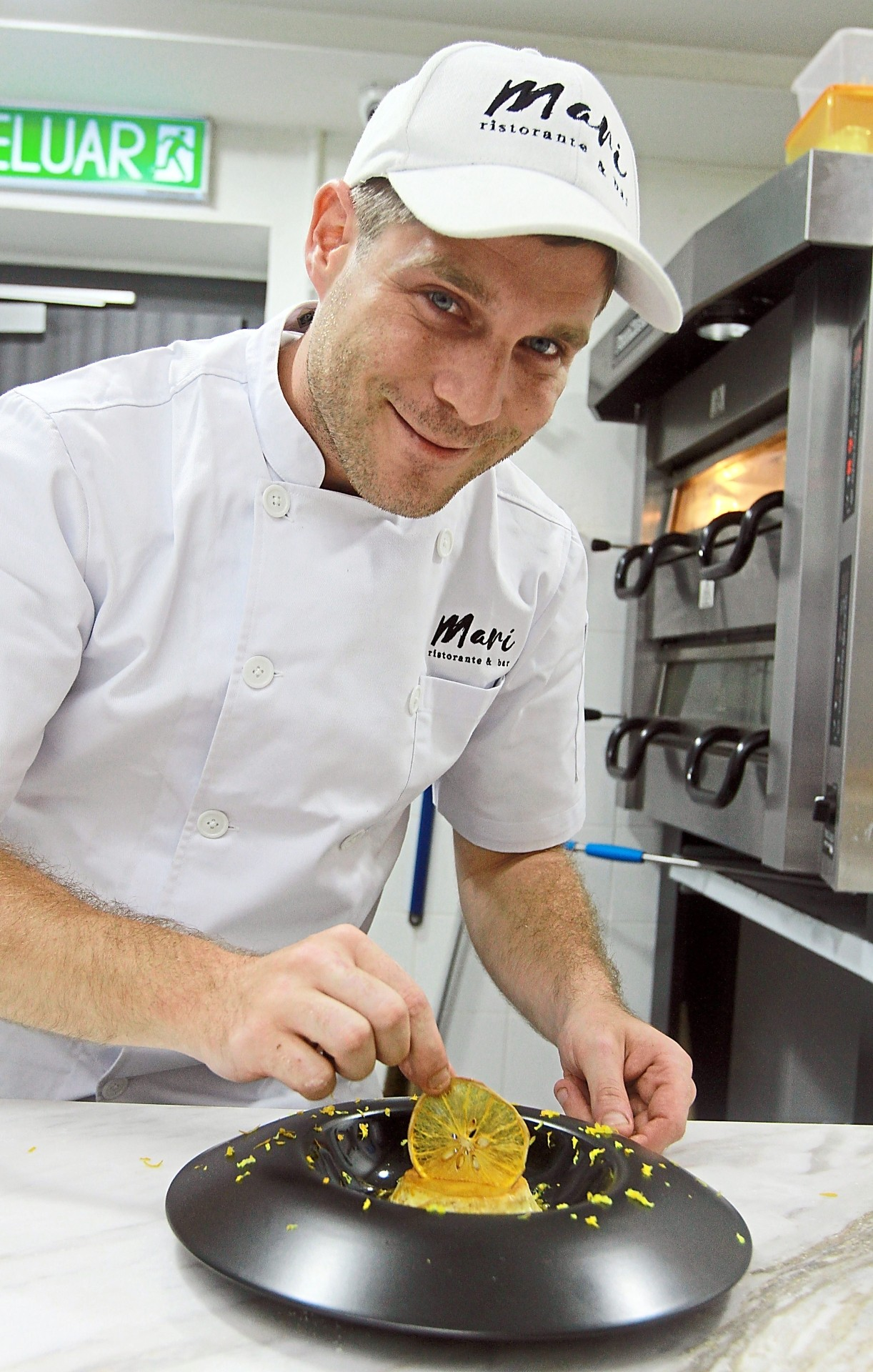 Grandi takes pleasure in concocting new combinations as well as flavours to surprise diners.