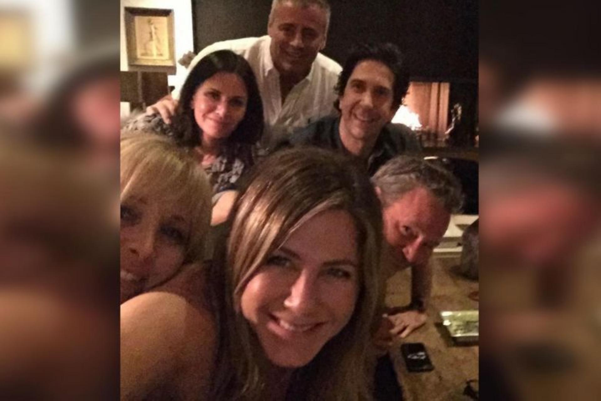 Jennifer Aniston Breaks Instagram With Her Friends Reunion